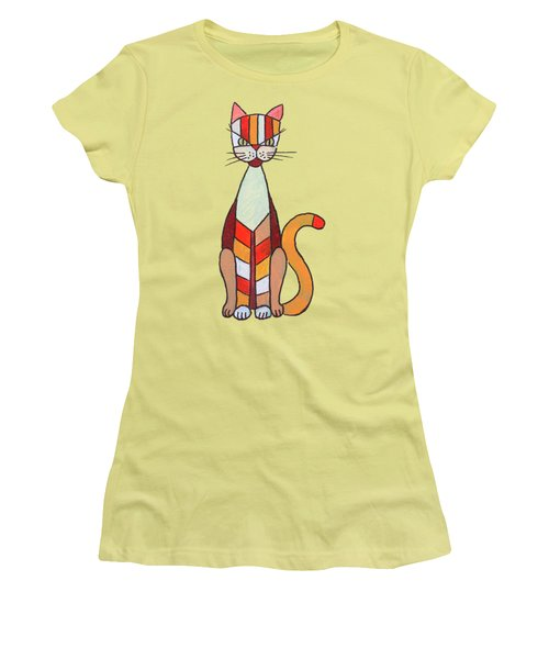 Funny Cat Women's T-Shirt (Athletic Fit)