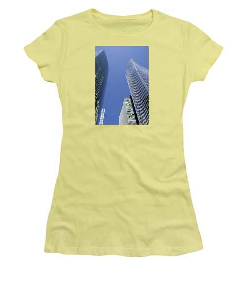 Future Metropolis Women's T-Shirt (Athletic Fit)
