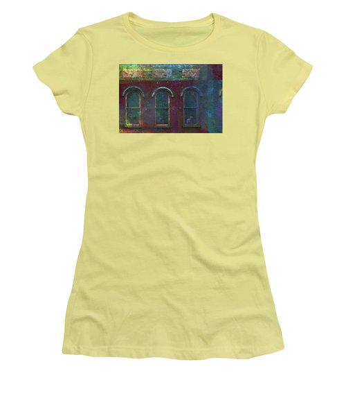 Galesburg Windows 2 Women's T-Shirt (Athletic Fit)