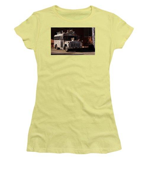 Gallery A Go Go Women's T-Shirt (Junior Cut) by Joseph Skompski