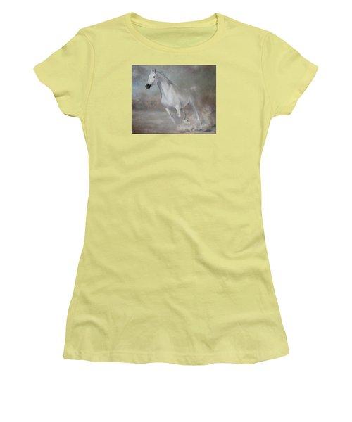 Gallop Women's T-Shirt (Junior Cut) by Vali Irina Ciobanu