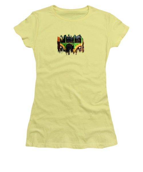 Galloping Goose Women's T-Shirt (Junior Cut) by Thom Zehrfeld