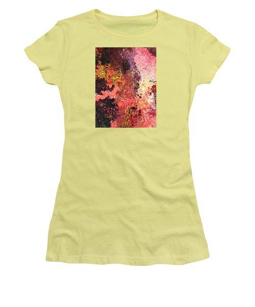 Ganesh In The Garden Women's T-Shirt (Junior Cut) by Ralph White