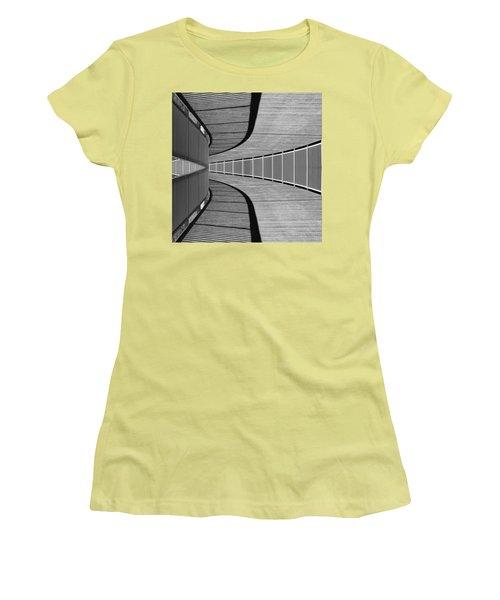 Gangway Women's T-Shirt (Junior Cut) by Chevy Fleet