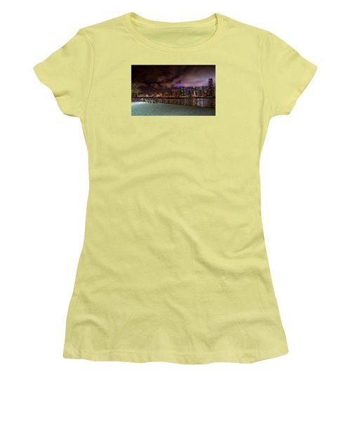 Gantry Park Women's T-Shirt (Junior Cut) by Rafael Quirindongo