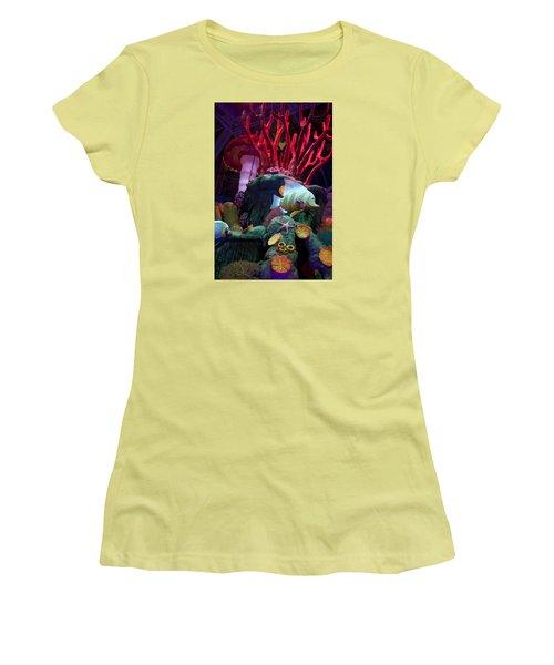 Garden Decoration Women's T-Shirt (Junior Cut) by Ivete Basso Photography