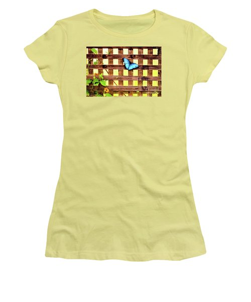 Garden Fence Women's T-Shirt (Athletic Fit)
