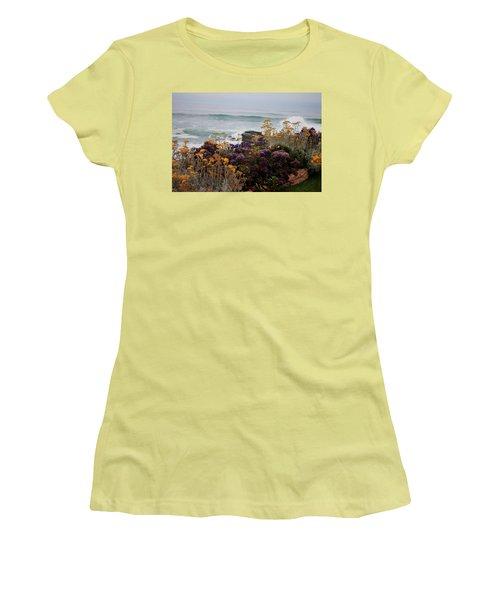 Garden View Women's T-Shirt (Junior Cut) by Ivete Basso Photography