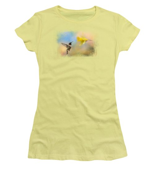 Garden Visitor Women's T-Shirt (Athletic Fit)