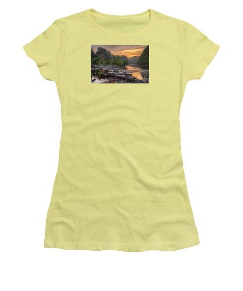 Gasconade River Women's T-Shirt (Junior Cut) by Robert Charity
