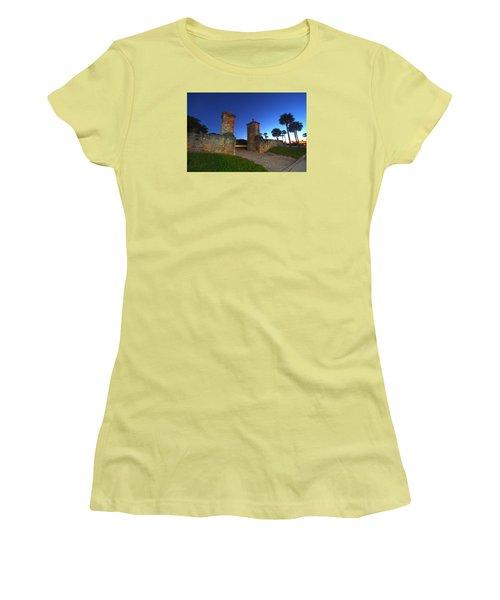 Gates Of The City Women's T-Shirt (Junior Cut) by Robert Och