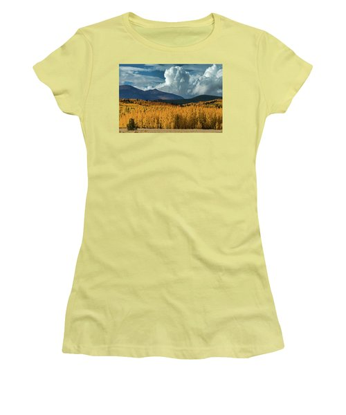 Gathering Storm - Park County Co Women's T-Shirt (Junior Cut) by Dana Sohr