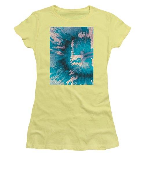 Genetic Modification Flower Women's T-Shirt (Junior Cut) by Moustafa Al Hatter