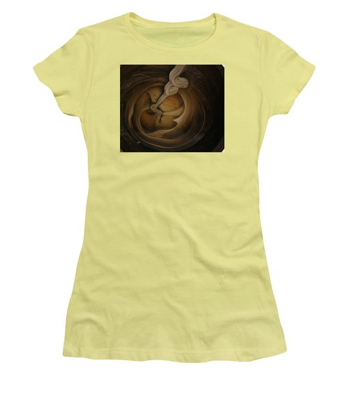 Genie In The Toilet Women's T-Shirt (Athletic Fit)