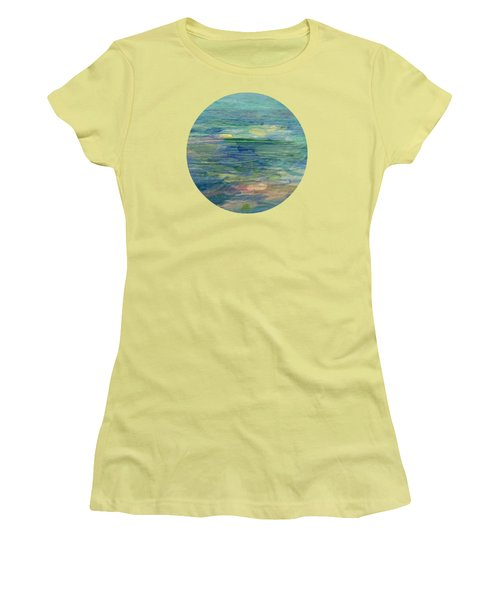 Gentle Light On The Water Women's T-Shirt (Athletic Fit)