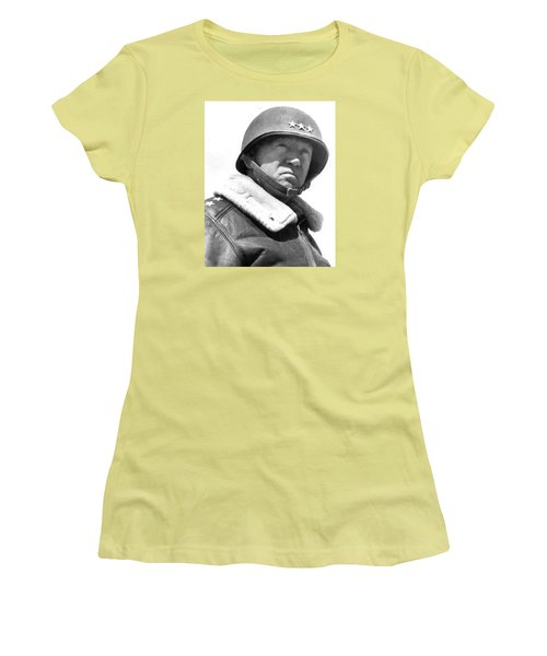 George S. Patton Unknown Date Women's T-Shirt (Athletic Fit)