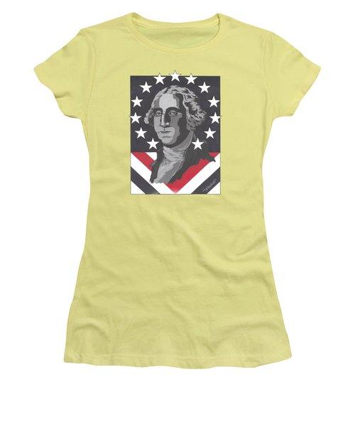 George Washington T-shirt Women's T-Shirt (Athletic Fit)
