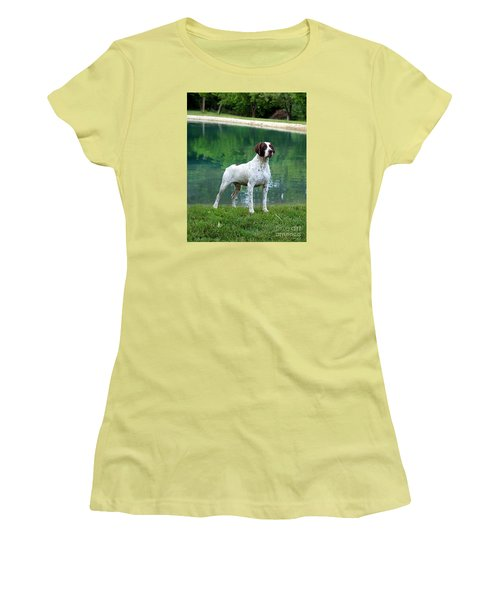 German Short-hair Pointer  Women's T-Shirt (Athletic Fit)