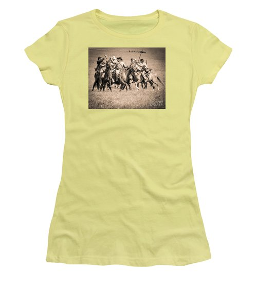 Gettysburg Cavalry Battle 7948s  Women's T-Shirt (Athletic Fit)