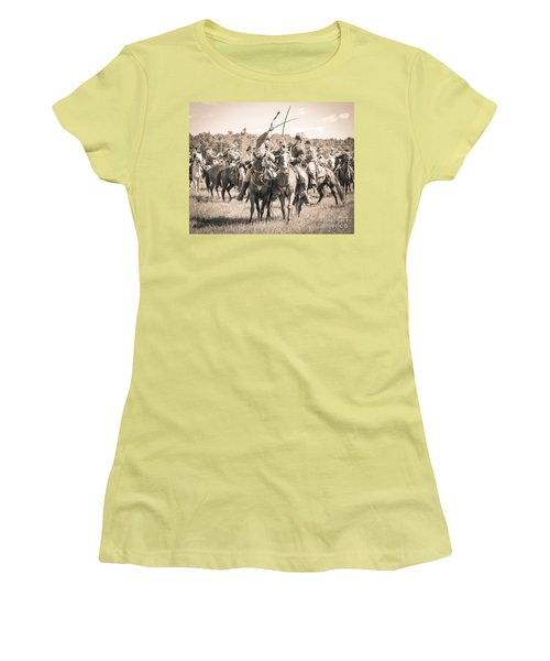 Gettysburg Cavalry Battle 7992s  Women's T-Shirt (Athletic Fit)