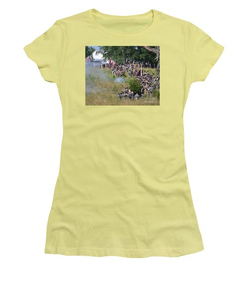 Gettysburg Confederate Infantry 8825c Women's T-Shirt (Athletic Fit)