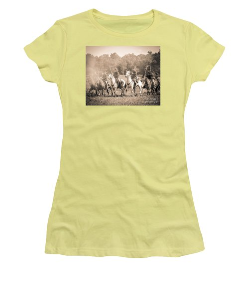 Gettysburg  Union Cavalry 7901s  Women's T-Shirt (Athletic Fit)