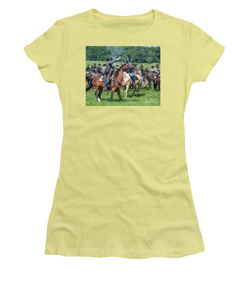 Gettysburg  Union Cavalry 7920c  Women's T-Shirt (Athletic Fit)
