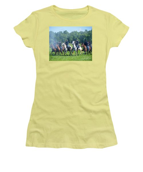 Gettysburg  Union Cavalry Women's T-Shirt (Athletic Fit)