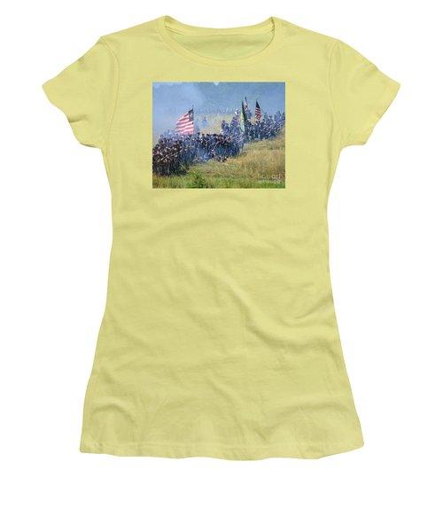 Gettysburg Union Infantry 8948c Women's T-Shirt (Athletic Fit)
