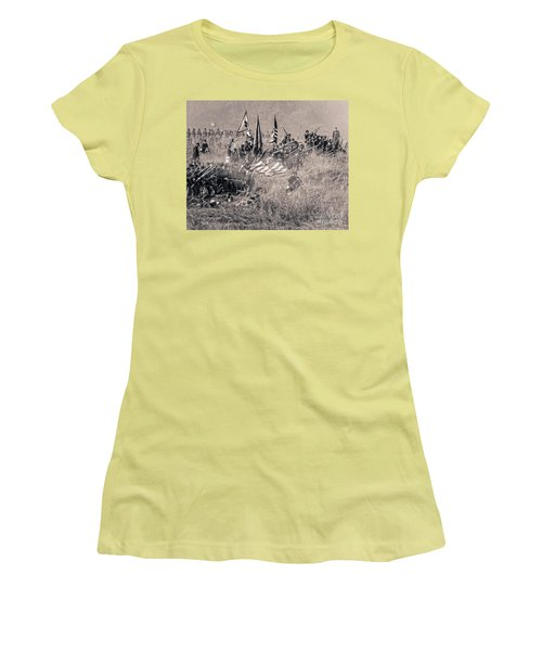 Gettysburg Union Infantry 8963s Women's T-Shirt (Athletic Fit)