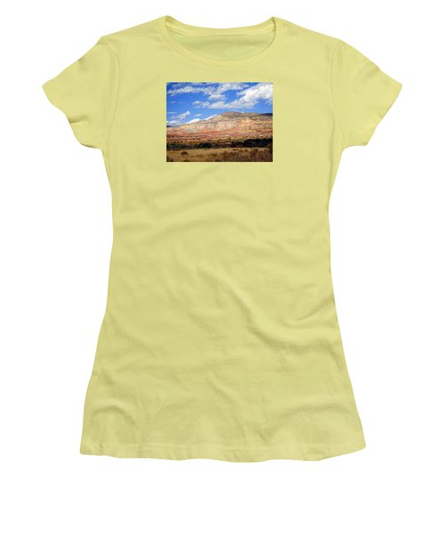 Women's T-Shirt (Junior Cut) featuring the photograph Ghost Ranch New Mexico by Kurt Van Wagner