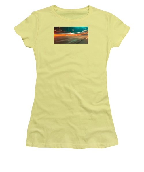 Ghostly Cars Women's T-Shirt (Athletic Fit)