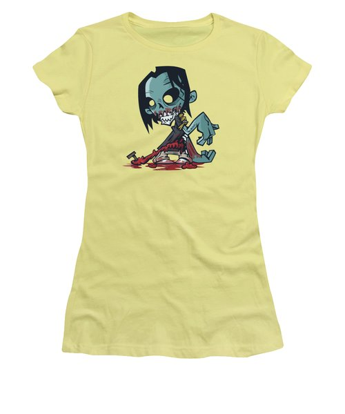 Ghoul T-shirt Women's T-Shirt (Junior Cut) by Herb Strobino