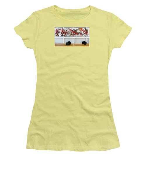 Ghsa Art Banner Prototype Women's T-Shirt (Junior Cut) by John Jr Gholson