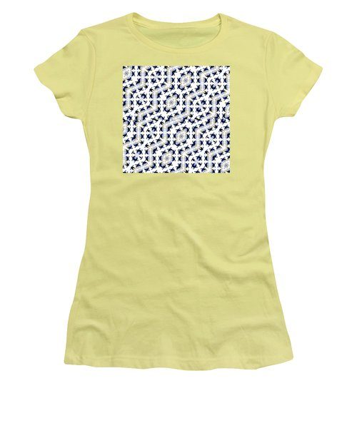 Giraffe Abstract 02 Women's T-Shirt (Athletic Fit)