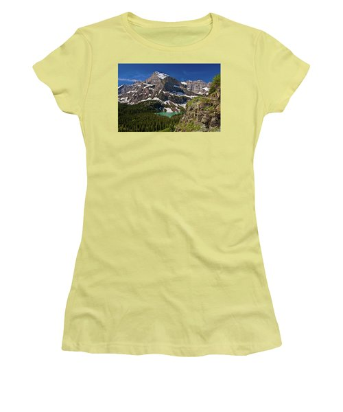 Glacier Backcountry 2 Women's T-Shirt (Athletic Fit)