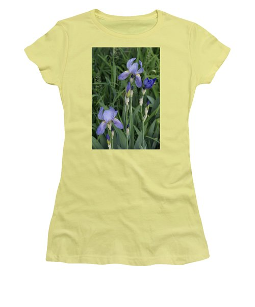 Women's T-Shirt (Junior Cut) featuring the photograph Glads by Cynthia Powell