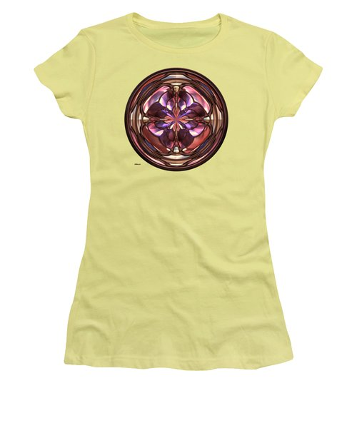 Glass Button 2 Women's T-Shirt (Junior Cut) by John M Bailey
