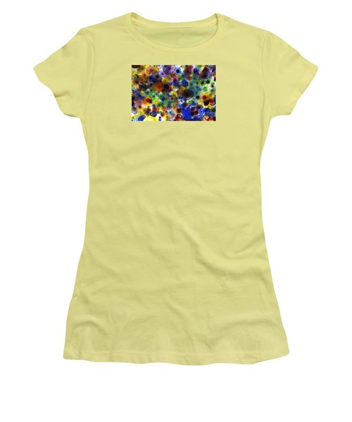 Glass Ceiling Women's T-Shirt (Junior Cut) by Sandy Molinaro