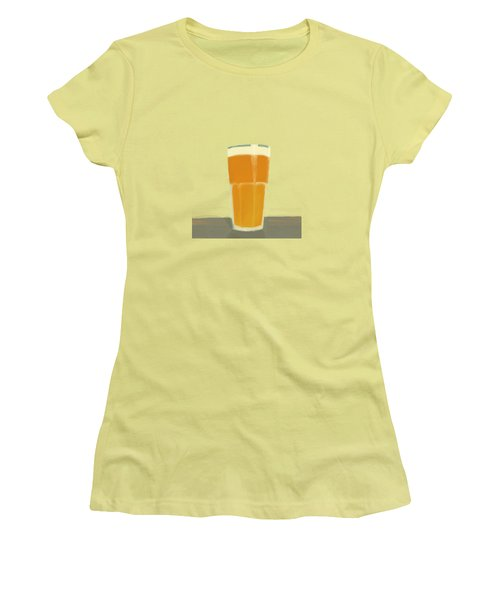 Glass Full Of.. Women's T-Shirt (Junior Cut) by Keshava Shukla