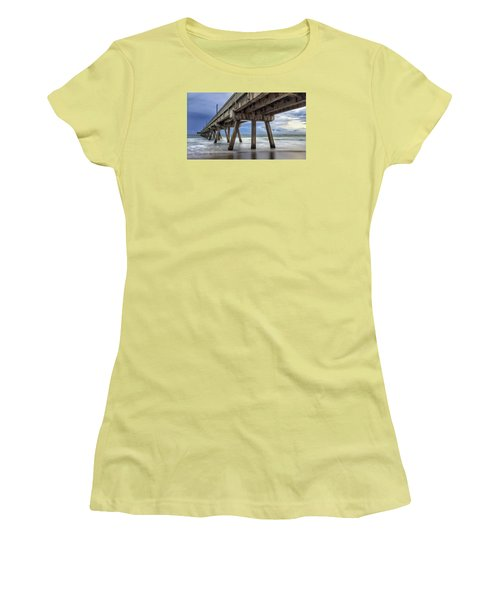 Gloomy Pier Women's T-Shirt (Athletic Fit)
