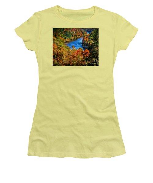 Glorious Color Women's T-Shirt (Athletic Fit)
