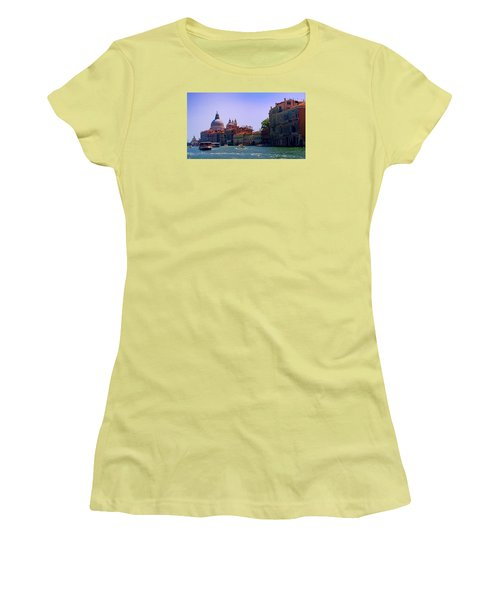 Women's T-Shirt (Athletic Fit) featuring the photograph Glorious Venice by Anne Kotan