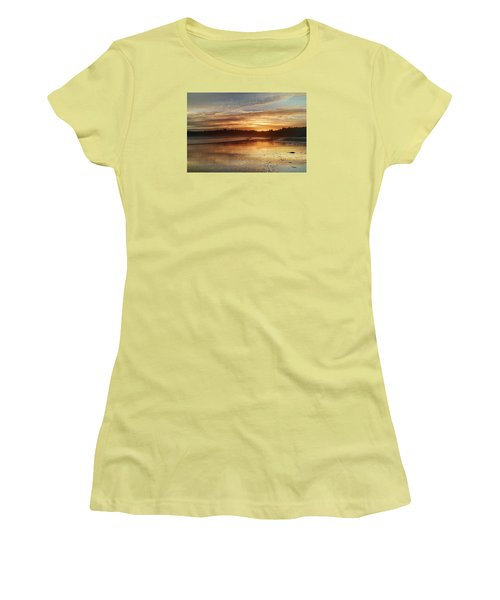 Long Beach I, British Columbia Women's T-Shirt (Junior Cut) by Heather Vopni