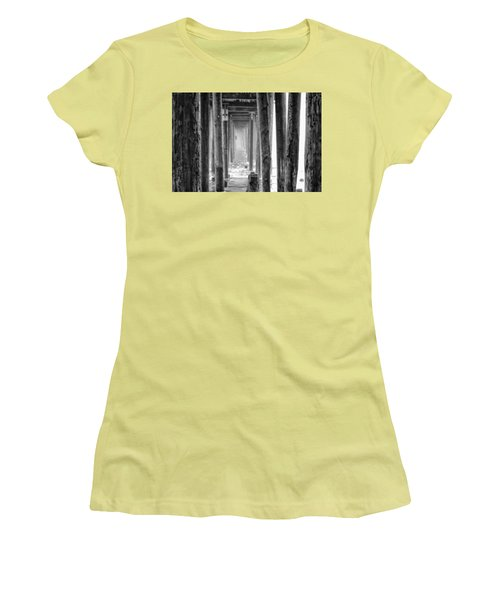 Women's T-Shirt (Athletic Fit) featuring the photograph Go Deep by Lora Lee Chapman