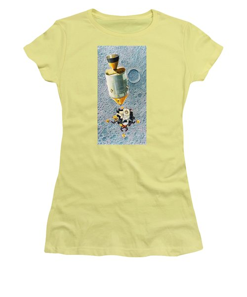 Go For Landing Women's T-Shirt (Junior Cut) by Douglas Castleman