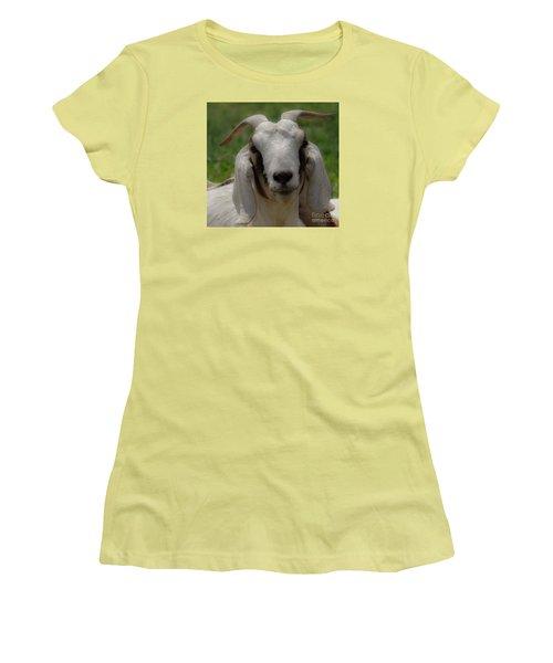Goat 1 Women's T-Shirt (Athletic Fit)