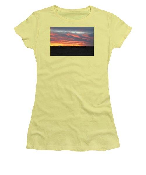 Gobi Sunset Women's T-Shirt (Junior Cut) by Diane Height