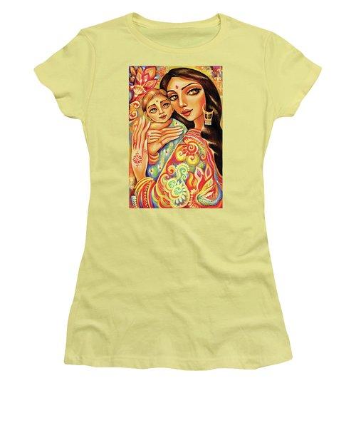 Goddess Blessing Women's T-Shirt (Junior Cut) by Eva Campbell