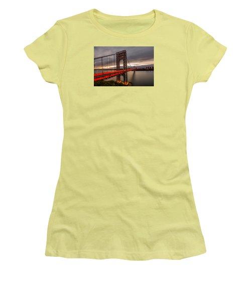 Gods Light  Women's T-Shirt (Junior Cut) by Anthony Fields